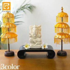パユン(バリの傘)3段ミニ  payung インテリア 卓上 サロン スパ用品 おしゃれ バリ風 バリ雑貨|cocobari