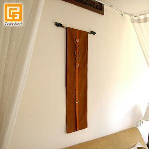タペストリー(Orangebrown×Orange) lxl  アジアン 壁掛け 壁飾り おしゃれ バリ バリ雑貨 バリ風 インテリア メール便対応可|cocobari
