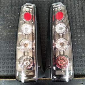 L−1:(1個=左右2個セット) スズキMH21S・22SワゴンR用 JUNYAN LEDテールランプ左右セット 中古品  HU411-TL cococar1818