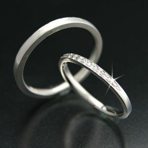 結婚指輪 プラチナ900 安い マリッジリング ダイヤモンド 2本セット 天然ダイヤ 金属アレルギー 日本製 おしゃれ ギフト プレゼント|cococaru