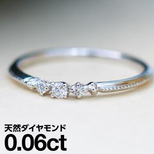ダイヤモンド 指輪 リング シルバー レディース 人気...