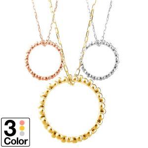 ネックレス10金 地金 ネックレス k10 イエローゴールド/ホワイトゴールド/ピンクゴールド 金属アレルギー 日本製 ホワイトデー ギフト プレゼント cococaru