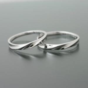 ペアリング マリッジリング 結婚指輪 プラチナ 2本セット cococaru