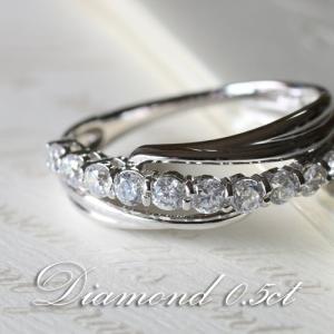 ダイヤモンド VSクラス Gカラー 0.5カラット プラチナ Pt950 指輪 リング レディース 人気|cococaru