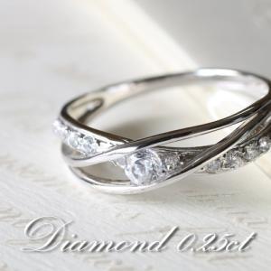 ダイヤモンド VSクラス Gカラー 0.25カラット プラチナ Pt950 指輪 リング レディース 人気|cococaru