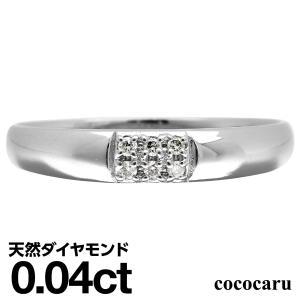 指輪 レディース ダイヤモンド リング プラチナ900 天然ダイヤ ファッションリング 金属アレルギー 日本製 おしゃれ ギフト プレゼント|cococaru