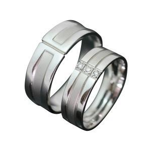 ペアリング マリッジリング 結婚指輪 ゴールド K10 2本セット ダイヤモンド|cococaru
