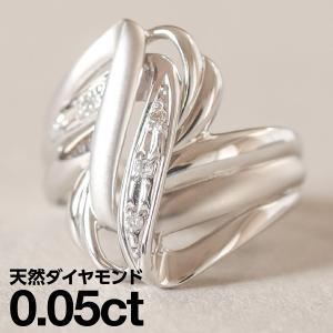ダイヤモンド 指輪 リング K18 ホワイトゴールド レディース 人気 cococaru