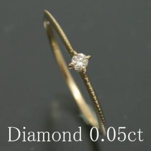 一粒 ダイヤモンド 指輪 リング K18 イエローゴールド レディース 人気|cococaru