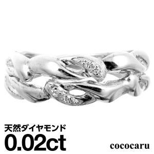 ダイヤモンド 指輪 リング シルバー レディース 人気|cococaru