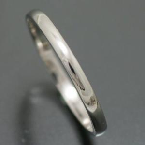 マリッジリング ペアリング 結婚指輪 ホワイトゴールド K1...