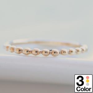 地金 リング k10 イエローゴールド/ホワイトゴールド/ピンクゴールド ファッションリング 金属アレルギー 日本製 おしゃれ ギフト プレゼント|cococaru