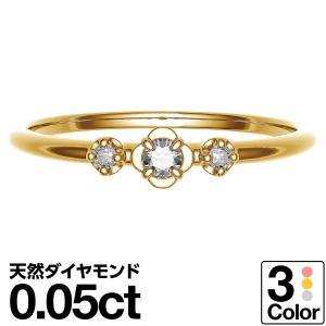 ダイヤモンドリング K10 ホワイトゴールド 指輪 リング レディース 人気|cococaru