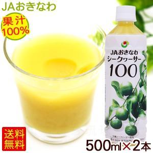 シークワーサージュース シークヮーサー100 原液 500ml×2本 (小型宅配便で送料無料) JAおきなわ 青切り 果汁100%|cocochir
