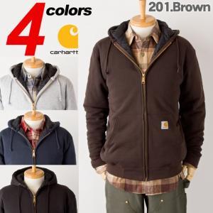 カーハート キルティング スウェット パーカーCARHARTT 3-Season Sweatshirt|cocochiya