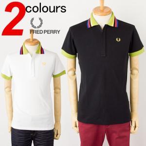 フレッドペリー ポロシャツ 吸汗速乾 多色ラインZIPポロ FRED PERRY F1149 30%OFFセール|cocochiya