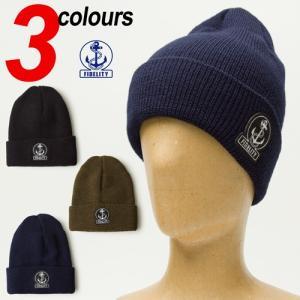 フィデリティ ニット帽 ニット ワッチ キャップ フィデリティー アメリカ製 帽子 FIDELITY KNIT WATCH CAP|cocochiya