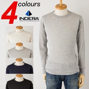 インデラミルズ クラシック サーマル 長袖 Tシャツ メンズ INDERA MILLS 800LS 810LS|cocochiya
