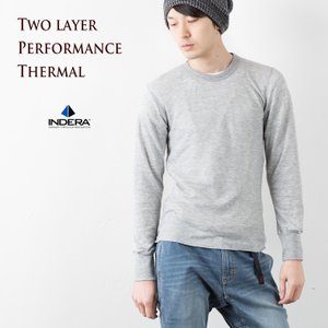 インデラミルズ 2レイヤー パフォーマンス サーマル 長袖 Tシャツ INDERA MILLS 975LS|cocochiya