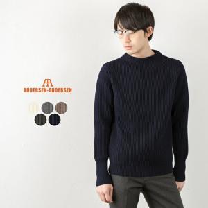 アンデルセン アンデルセン ANDERSEN-ANDERSEN クルーネック セーター イタリア製 ニット|cocochiya