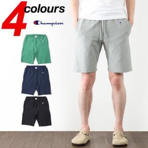 チャンピオン ショートパンツ リバースウィーブ ショーツ Champion Reverse Weave Short Pant 9.4オンス 天竺素材 リバースイーブ C3-D526|cocochiya