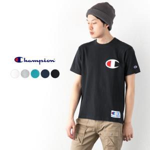 チャンピオン ビッグロゴ Tシャツ C3-F362 アクションスタイル ネコポス可|cocochiya