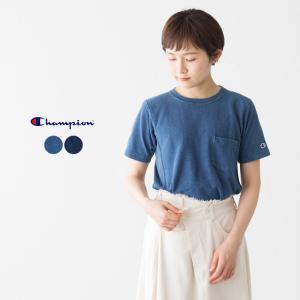 チャンピオン Champion Tシャツ リバースウィーブ インディゴ Tシャツ REVERSE WEAVE INDIGO T-SHIRTS C3-H307|cocochiya