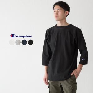 チャンピオン T1011 七分袖 フットボールTシャツ Champion アメリカ製 cocochiya
