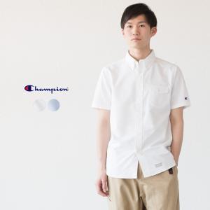 チャンピオン ショートスリーブ ボタンダウンシャツ C3-M341 キャンパス cocochiya