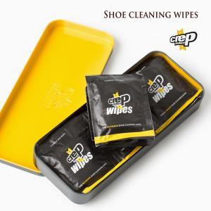 クレップ プロテクト ペーパークリーナー 12枚入り crep pretect WIPES 6065-29030 シューケア用品 汚れ落とし シート|cocochiya