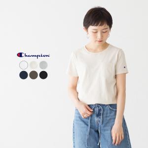 チャンピオン CHAMPION ウィメンズ ポケット付き Tシャツ POKECT CW-K321 CW-F323 CW-J301 レディース ポケT|cocochiya