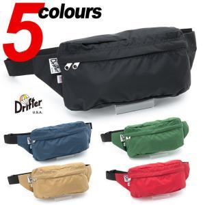 ドリフター クラシック ヒップサック M 米国製 Drifter CLASSIC HIP SACK M パッククロスナイロン PACK CLOTH NYLON ウエストバッグ 鞄 サイクリング DF1535|cocochiya