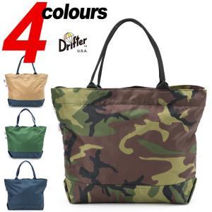ドリフター フィールド トートバッグ 米国製 Drifter FIELD TOTE DF1630 パッククロスナイロン PACK CLOTH NYLON A4 カバン 鞄|cocochiya