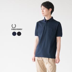 フレッドペリー ポロシャツ 日本製 シャドー ストライプ ポロ F1752|cocochiya