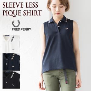 10%OFF フレッドペリー レディース スリーブレス ピケシャツ F5284|cocochiya