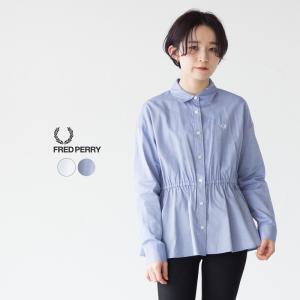 フレッドペリー バック プリーツ シャツ F8458|cocochiya