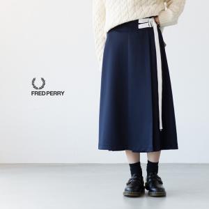フレッドペリー トラック スカート FRED PERRY F8497|cocochiya