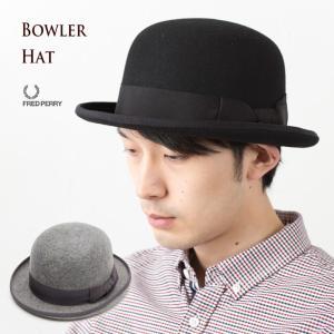 フレッドペリー 帽子 ボーラーハット 日本製 F9484 FRED PERRY BOWLER HAT モッズ 英国 チャップリン|cocochiya
