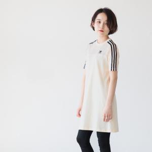 アディダス オリジナルス レディース Tシャツ ワンピース TEE DRESS FUB25 DX2010 ネコポス可|cocochiya