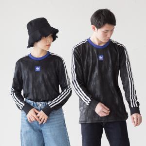 アディダス オリジナルス 長袖 Tシャツ ドッドソン ジャージ adidas Originals FUD89 DU3928 スケートボーディング|cocochiya