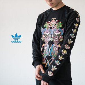 アディダス オリジナルス 長袖 Tシャツ TANAAMI カリフォルニア ロングスリーブ Tシャツ adidas Originals FUF47 DY6690|cocochiya