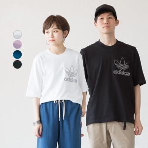 アディダス オリジナルス アウトライン Tシャツ FUV94 大きめサイズ ネコポス可|cocochiya
