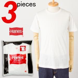 ヘインズ ビンテージ 3P Tシャツ'70年代復刻 赤パック HANES VINTAGE RED PACK 3P T-SHIRT メンズ アンダーウエア レッドパック 3枚組|cocochiya