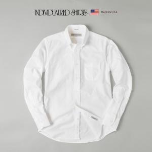 インディビジュアライズドシャツ INDIVIDUALIZED SHIRTS ボタンダウンシャツ スタンダードフィット グレートアメリカンオックスフォード|cocochiya