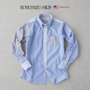 インディビジュアライズドシャツ エンジニアード ボタンダウンシャツ V9SBBC TYPE1 スタンダードフィット チェックシャツ cocochiya