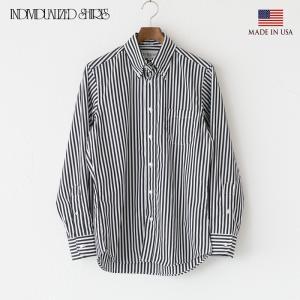 インディビジュアライズドシャツ バーバーストライプ ボタンダウンシャツ スタンダードフィット INDIVIDUALIZED SHIRTS G70EBS-L cocochiya