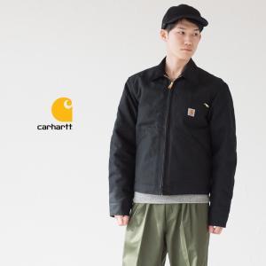 Carhartt デトロイトジャケット J001ブラックダック 黒 カーハート ジャケット|cocochiya
