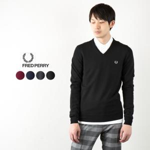 フレッドペリー セーター クラシック Vネック セーター K4500/K7210|cocochiya