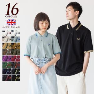 フレッドペリー 英国製 ポロシャツ M12N 新色&定番カラー