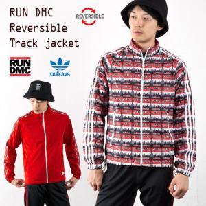 アディダス オリジナルス RUN DMC リバーシブル トラックジャケット adidas Originals ジャージ トラックジャケット|cocochiya